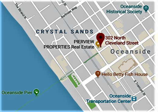 PierView Properties Real Estate Map