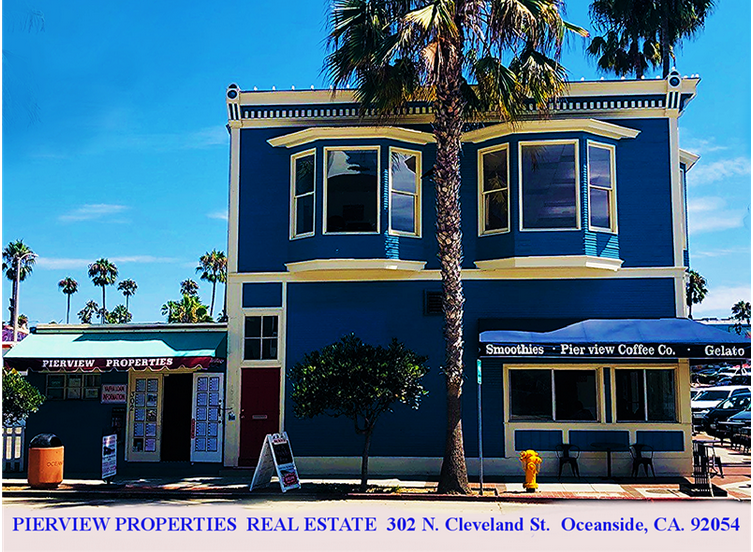 PIERVIEW PROPERTIES REAL ESTATE OCEANSIDE CA.